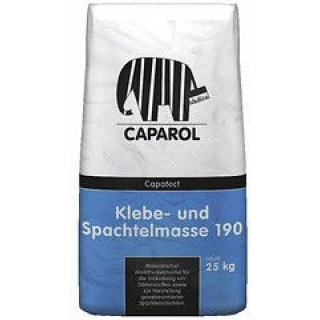 Клей для армирования мин. ваты Caparol Capatect-Klebe-und Spachtelmasse 190 Grau