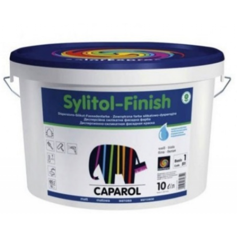caparol sylitol finish 130 base 3. Black Bedroom Furniture Sets. Home Design Ideas