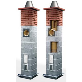 Дымоходная системa Wulkan CI-eko x2, Icopal