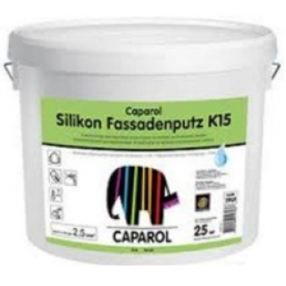 Штукатурка «Барашек» Caparol Silikon-Fassadenputz K15 Weiß
